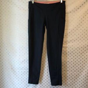 Forever21 Grey/Blue Workout Pants Size L